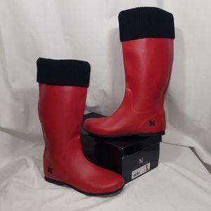 Butterfly Twists Rain Boots